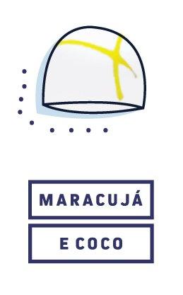 Bombom Maracujá e Coco